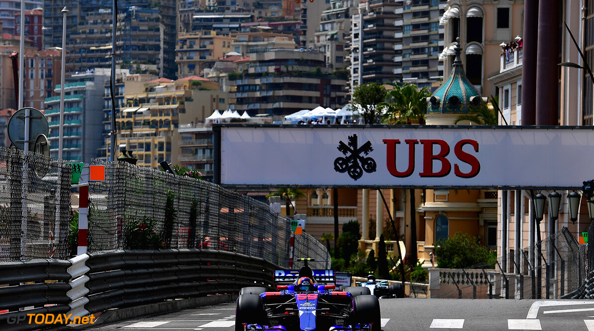 MONTE-CARLO, MONACO - MAY 25: Carlos Sainz of Spain driving the (55) Scuderia Toro Rosso STR12 on track during practice for the Monaco Formula One Grand Prix at Circuit de Monaco on May 25, 2017 in Monte-Carlo, Monaco.  (Photo by Shaun Botterill/Getty Images) // Getty Images / Red Bull Content Pool  // P-20170525-01038 // Usage for editorial use only // Please go to www.redbullcontentpool.com for further information. //  F1 Grand Prix of Monaco - Practice Shaun Botterill Monte-Carlo (City) Monaco  P-20170525-01038