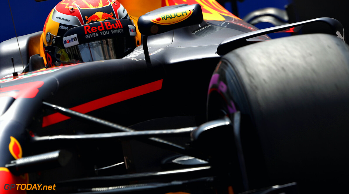 MONTE-CARLO, MONACO - MAY 25: Max Verstappen of the Netherlands driving the (33) Red Bull Racing Red Bull-TAG Heuer RB13 TAG Heuer on track during practice for the Monaco Formula One Grand Prix at Circuit de Monaco on May 25, 2017 in Monte-Carlo, Monaco.  (Photo by Mark Thompson/Getty Images) // Getty Images / Red Bull Content Pool  // P-20170525-00902 // Usage for editorial use only // Please go to www.redbullcontentpool.com for further information. //  F1 Grand Prix of Monaco - Practice Mark Thompson Monte-Carlo (City) Monaco  P-20170525-00902