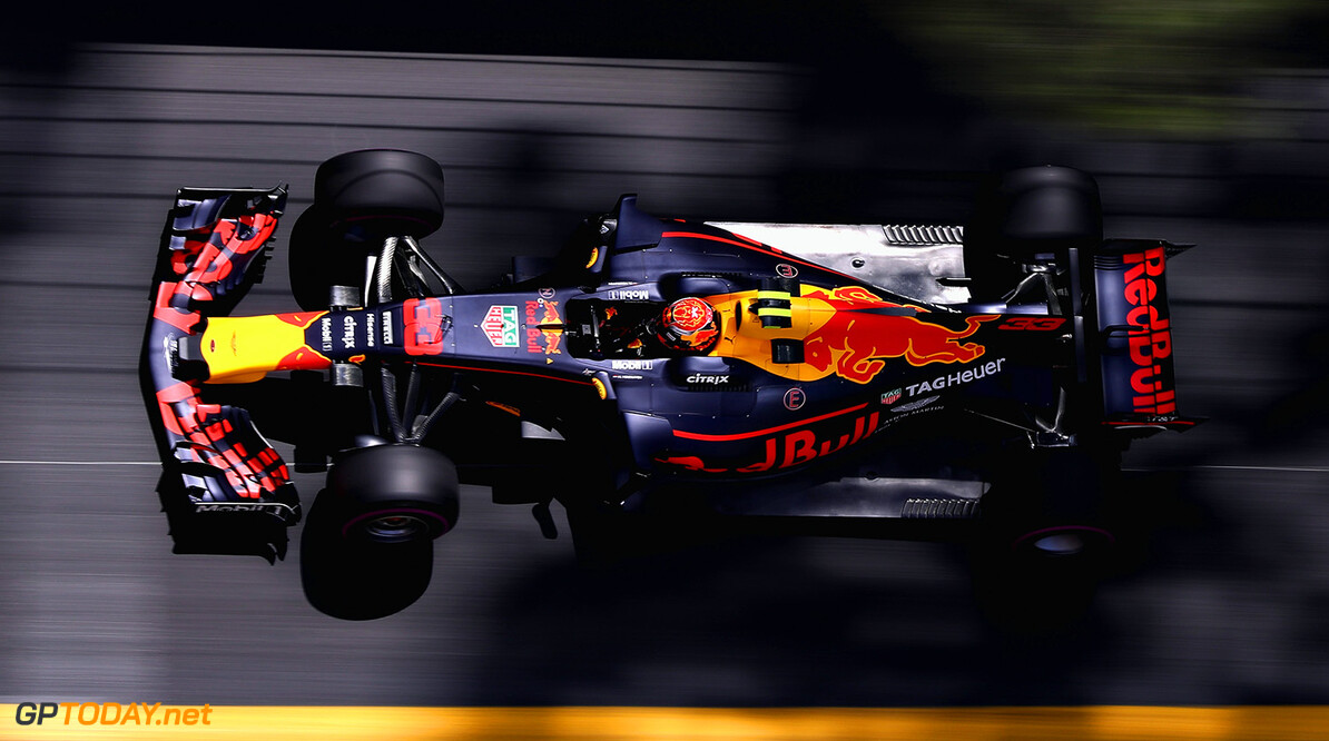 MONTE-CARLO, MONACO - MAY 25: Max Verstappen of the Netherlands driving the (33) Red Bull Racing Red Bull-TAG Heuer RB13 TAG Heuer on track during practice for the Monaco Formula One Grand Prix at Circuit de Monaco on May 25, 2017 in Monte-Carlo, Monaco.  (Photo by Mark Thompson/Getty Images) // Getty Images / Red Bull Content Pool  // P-20170525-00438 // Usage for editorial use only // Please go to www.redbullcontentpool.com for further information. //  F1 Grand Prix of Monaco - Practice Mark Thompson Monte-Carlo (City) Monaco  P-20170525-00438