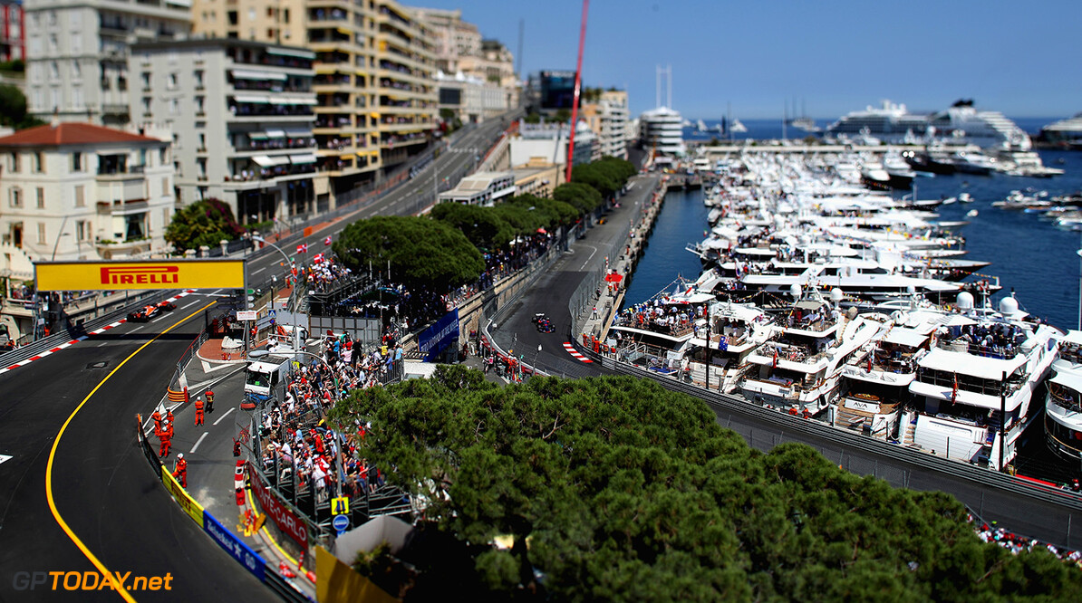 MONTE-CARLO, MONACO - MAY 28:  (EDITORS NOTE: Image was created using a variable planed lens.) Daniil Kvyat of Russia driving the (26) Scuderia Toro Rosso STR12 on track  during the Monaco Formula One Grand Prix at Circuit de Monaco on May 28, 2017 in Monte-Carlo, Monaco.  (Photo by Mark Thompson/Getty Images) // Getty Images / Red Bull Content Pool  // P-20170528-01170 // Usage for editorial use only // Please go to www.redbullcontentpool.com for further information. //  F1 Grand Prix of Monaco Mark Thompson Monte-Carlo (City) Monaco  P-20170528-01170