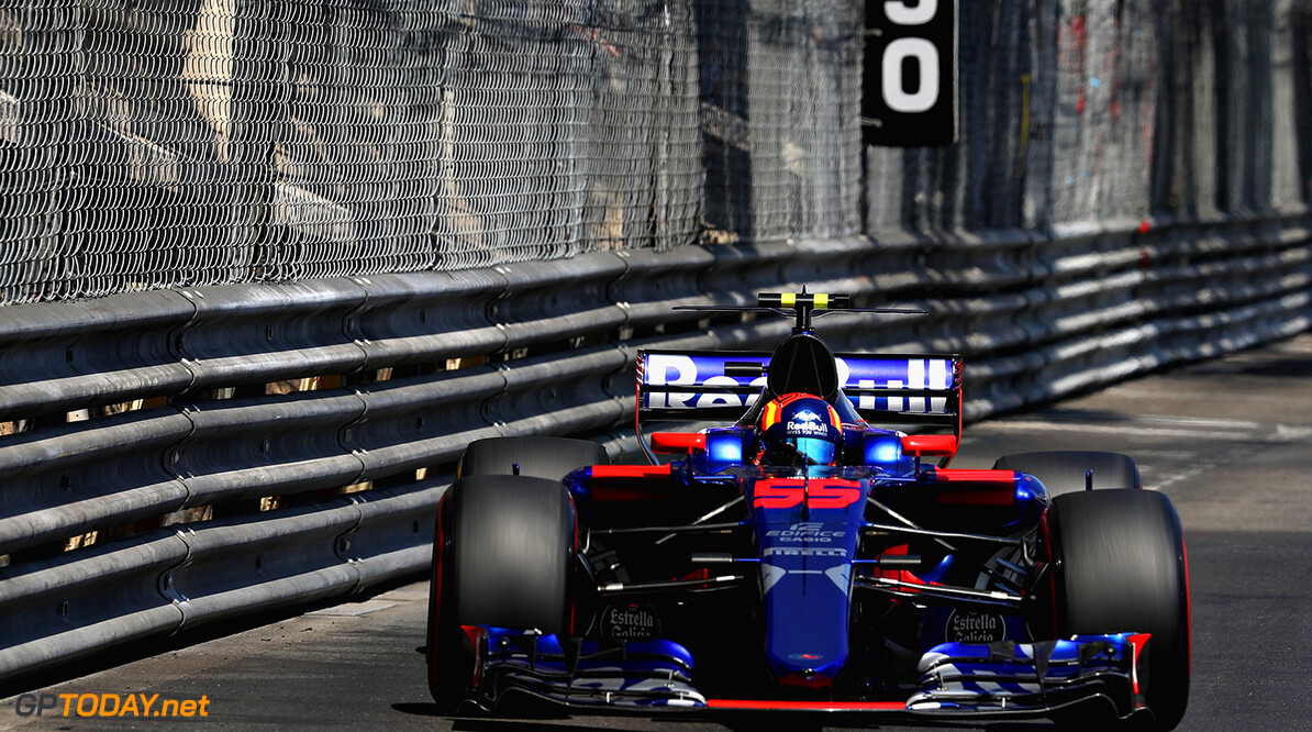 MONTE-CARLO, MONACO - MAY 28: Carlos Sainz of Spain driving the (55) Scuderia Toro Rosso STR12 on track during the Monaco Formula One Grand Prix at Circuit de Monaco on May 28, 2017 in Monte-Carlo, Monaco.  (Photo by Mark Thompson/Getty Images) // Getty Images / Red Bull Content Pool  // P-20170528-01167 // Usage for editorial use only // Please go to www.redbullcontentpool.com for further information. //  F1 Grand Prix of Monaco Mark Thompson Monte-Carlo (City) Monaco  P-20170528-01167