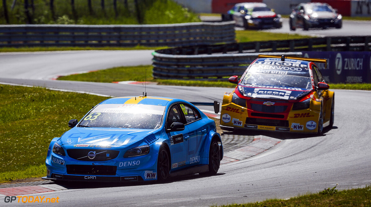 63 CATSBURG Nicky (ned), Volvo S60 Polestar team Polestar Cyan Racing, action during the 2017 FIA WTCC World Touring Car Race of Nurburgring, Germany from May 26 to 28 - Photo Florent Gooden / DPPI AUTO - WTCC NURBURGING 2017 Florent Gooden Nurburg Allemagne  ALLEMAGNE AUTO CHAMPIONNAT DU MONDE CIRCUIT COURSE FIA Motorsport TOURISME WTCC europe