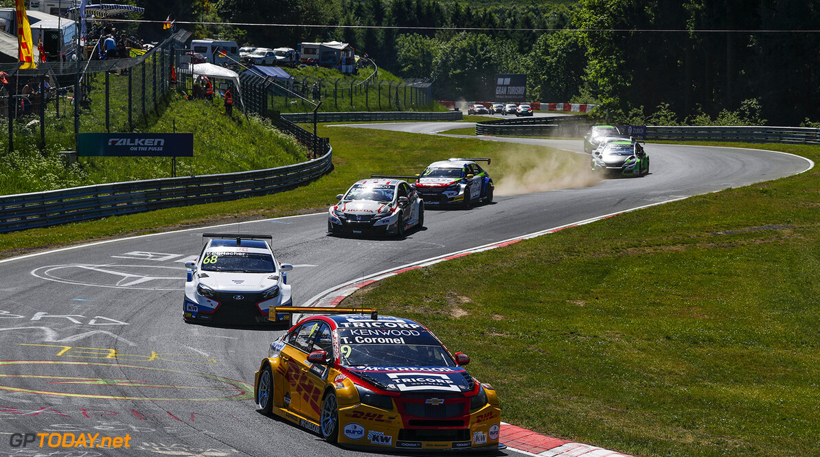09 CORONEL Tom (ned), Chevrolet RML Cruze team ROAL Motorsport, action during the 2017 FIA WTCC World Touring Car Race of Nurburgring, Germany from May 26 to 28 - Photo Florent Gooden / DPPI AUTO - WTCC NURBURGING 2017 Florent Gooden Nurburg Allemagne  ALLEMAGNE AUTO CHAMPIONNAT DU MONDE CIRCUIT COURSE FIA Motorsport TOURISME WTCC europe