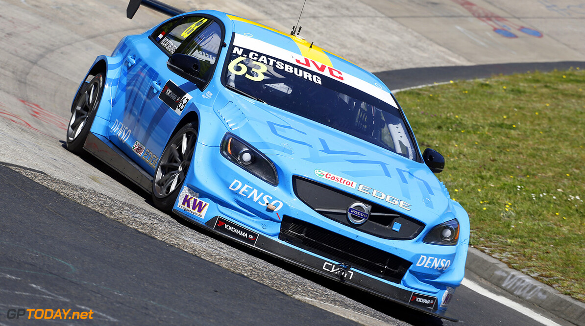 63 CATSBURG Nicky (ned), Volvo S60 Polestar team Polestar Cyan Racing, action during the 2017 FIA WTCC World Touring Car Race of Nurburgring, Germany from May 26 to 28 - Photo Clement Marin / DPPI AUTO - WTCC NURBURGING 2017 Clement Marin Nurburg Allemagne  allemagne auto championnat du monde circuit course europe fia motorsport tourisme wtcc
