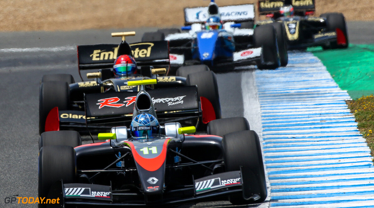 JEREZ (ESP) MAY 26-28 2017 - 4th round of the Worldseries Formula V8 3.5 at circuito de Jerez. Roy Nissany #11 RP Motorsport. Action. (C) 2017 Klaas Norg  / Dutch Photo Agency JEREZ RACING FORMULA V8 2017     Auto Autosport Car Formula Jerez Michelin Motorsports Race Racing Renault Spain Track World Series