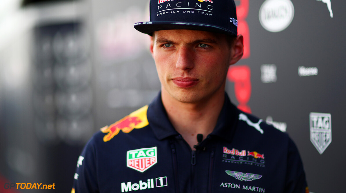 MONTREAL, QC - JUNE 08:  Max Verstappen of Netherlands and Red Bull Racing in the Paddock during previews for the Canadian Formula One Grand Prix at Circuit Gilles Villeneuve on June 8, 2017 in Montreal, Canada.  (Photo by Dan Istitene/Getty Images) // Getty Images / Red Bull Content Pool  // P-20170608-01730 // Usage for editorial use only // Please go to www.redbullcontentpool.com for further information. //  Canadian F1 Grand Prix - Previews Dan Istitene  Canada  P-20170608-01730