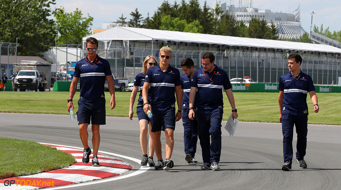 Canadian GP Thursday 08/06/17 Marcus Ericsson (SWE), Sauber F1 Team.  Circuit Ile Notre Dame track walk. Canadian GP Thursday 08/06/17 Jad Sherif                       Montreal Canada  F1 Formula 1 One 2017 Ericsson Sauber