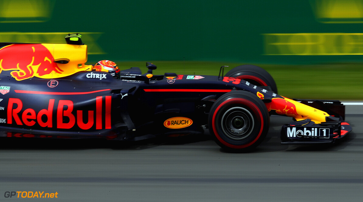 MONTREAL, QC - JUNE 09: Max Verstappen of the Netherlands driving the (33) Red Bull Racing Red Bull-TAG Heuer RB13 TAG Heuer on track during practice for the Canadian Formula One Grand Prix at Circuit Gilles Villeneuve on June 9, 2017 in Montreal, Canada.  (Photo by Clive Mason/Getty Images) // Getty Images / Red Bull Content Pool  // P-20170609-01894 // Usage for editorial use only // Please go to www.redbullcontentpool.com for further information. //  Canadian F1 Grand Prix - Practice Clive Mason  Canada  P-20170609-01894