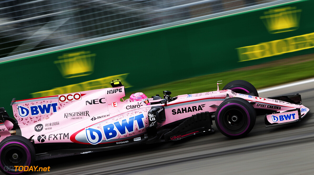 Formula One World Championship Esteban Ocon (FRA) Sahara Force India F1 VJM10. Canadian Grand Prix, Friday 9th June 2017. Montreal, Canada. Motor Racing - Formula One World Championship - Canadian Grand Prix - Practice Day - Montreal, Canada James Moy Photography Montreal Canada  Formula One Formula 1 F1 GP Grand Prix Canada Canadian Montreal Ille Notre Dame Circuit JM717 Action Track GP1707b GP1707b_M