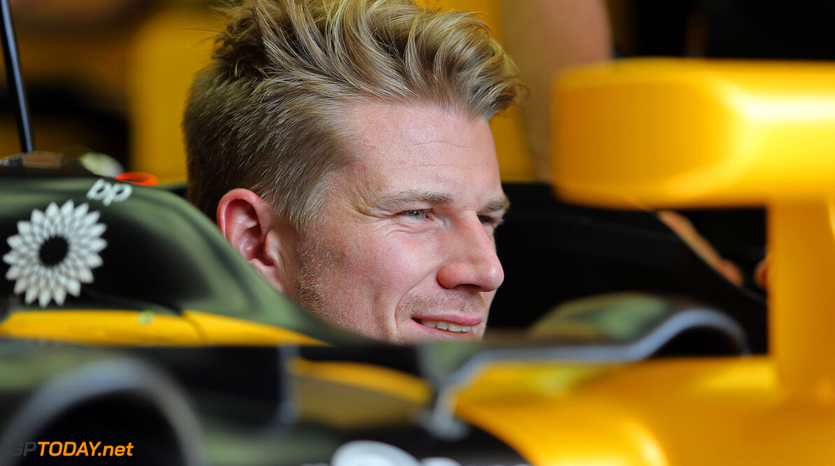 Formula One World Championship Nico Hulkenberg (GER) Renault Sport F1 Team RS17. Canadian Grand Prix, Thursday 8th June 2017. Montreal, Canada. Motor Racing - Formula One World Championship - Canadian Grand Prix - Preparation Day - Montreal, Canada Renault Sport Formula One Team Montreal Canada  Formula One Formula 1 F1 GP Grand Prix Canada Canadian Montreal Ille Notre Dame Circuit JM716 Hulkenberg H?lkenberg Huelkenberg Portrait GP1707a