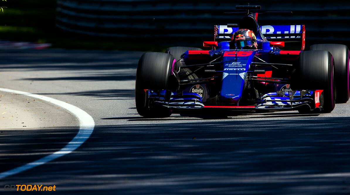 MONTREAL, QC - JUNE 11:  Daniil Kvyat of Scuderia Toro Rosso and Russia during the Canadian Formula One Grand Prix at Circuit Gilles Villeneuve on June 11, 2017 in Montreal, Canada.  (Photo by Peter Fox/Getty Images) // Getty Images / Red Bull Content Pool  // P-20170611-02021 // Usage for editorial use only // Please go to www.redbullcontentpool.com for further information. //  Canadian F1 Grand Prix Peter Fox Montreal (City) Canada  P-20170611-02021