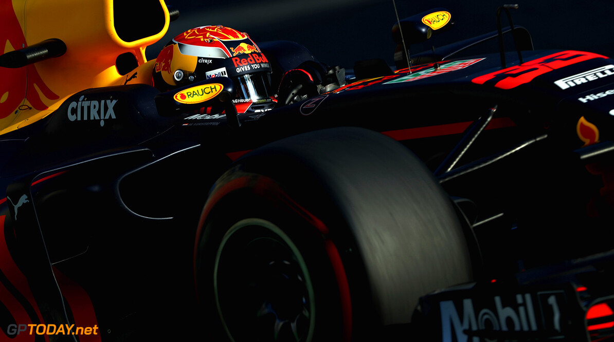 BAKU, AZERBAIJAN - JUNE 23: Max Verstappen of the Netherlands driving the (33) Red Bull Racing Red Bull-TAG Heuer RB13 TAG Heuer on track during practice for the Azerbaijan Formula One Grand Prix at Baku City Circuit on June 23, 2017 in Baku, Azerbaijan.  (Photo by Mark Thompson/Getty Images) // Getty Images / Red Bull Content Pool  // P-20170623-01509 // Usage for editorial use only // Please go to www.redbullcontentpool.com for further information. //  Azerbaijan F1 Grand Prix - Practice Mark Thompson Baku Azerbaijan  P-20170623-01509