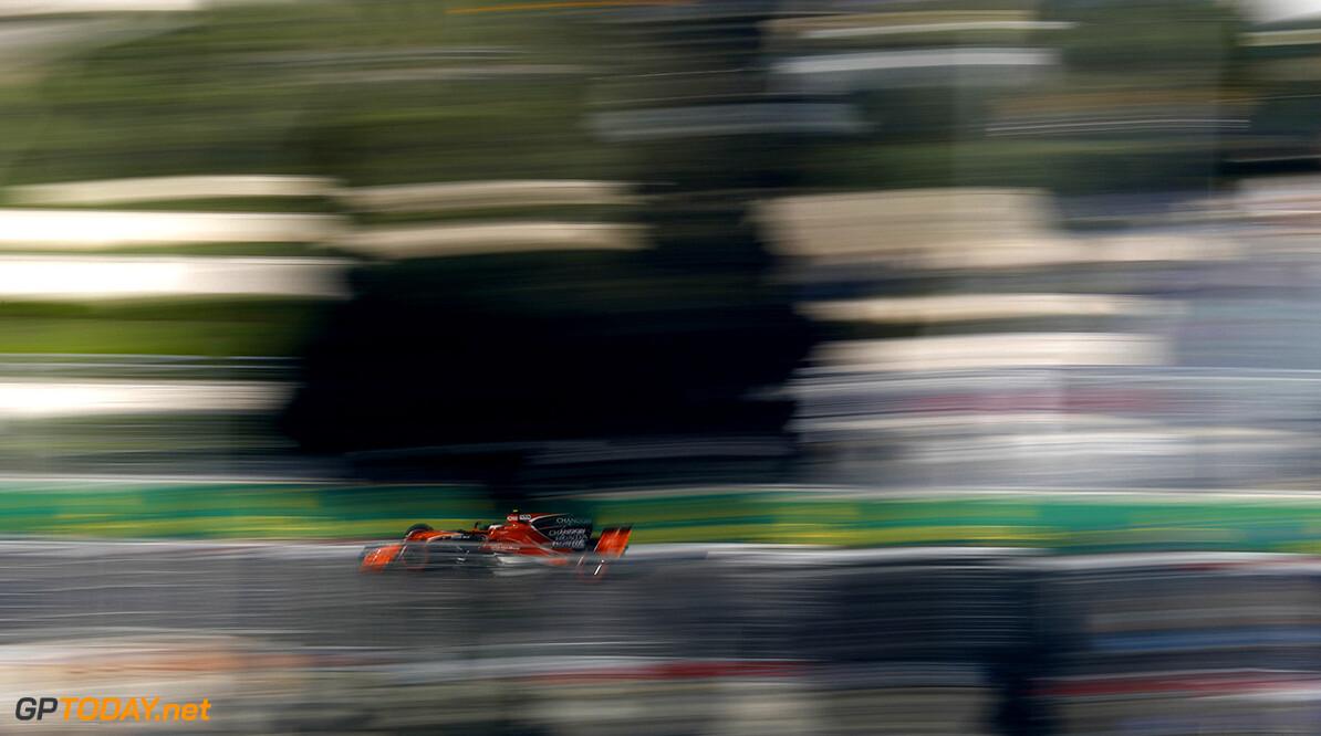 Baku City Circuit, Baku, Azerbaijan. Friday 23 June 2017. Stoffel Vandoorne, McLaren MCL32 Honda. Photo: Glenn Dunbar/McLaren ref: Digital Image _X4I0827  Glenn Dunbar    f1 formula 1 formula one gp grand prix Action
