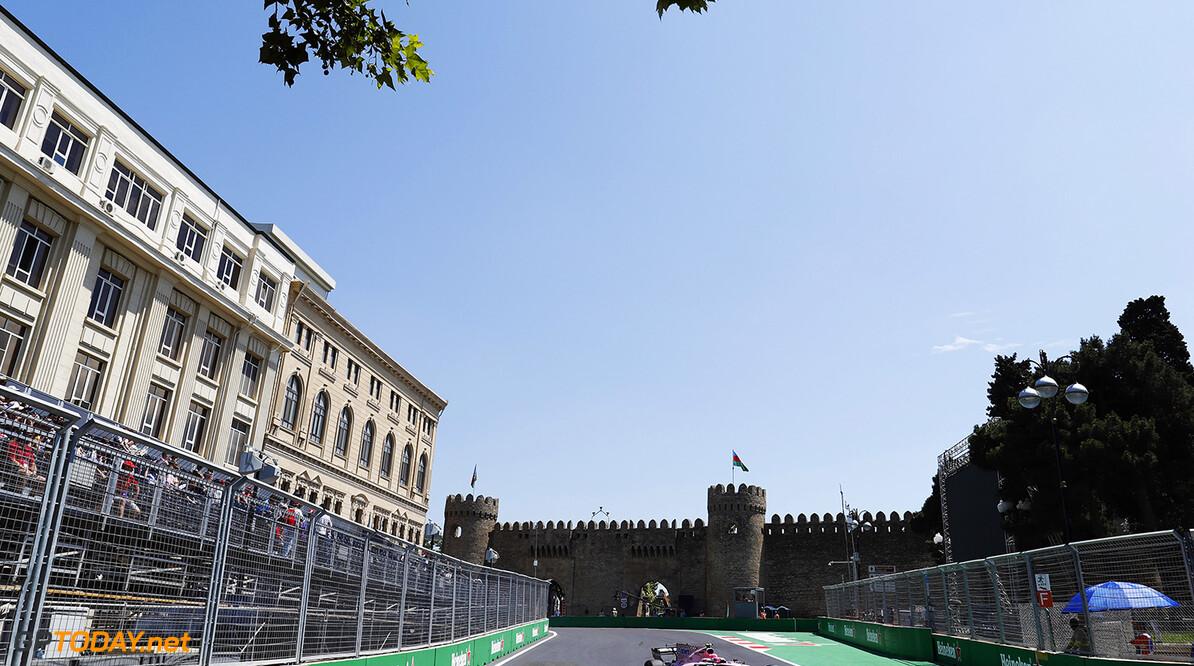 Baku City Circuit, Baku, Azerbaijan. Friday 23 June 2017. World Copyright: Glenn Dunbar/LAT Images ref: Digital Image _31I9290  Glenn Dunbar    f1 formula 1 formula one gp baku
