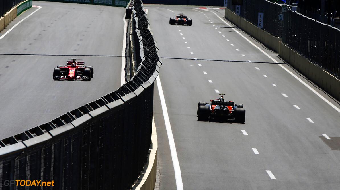 Baku City Circuit, Baku, Azerbaijan. Friday 23 June 2017. World Copyright: Andy Hone/LAT Images ref: Digital Image _ONY8589      f1 formula 1 formula one gp baku