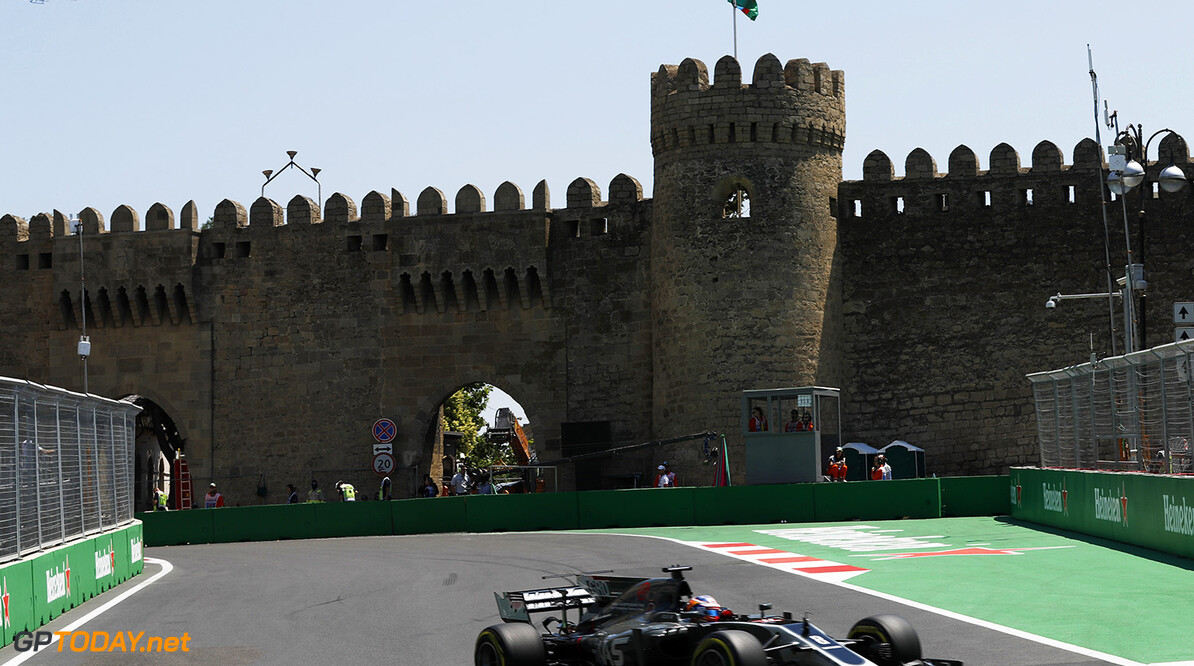 Baku City Circuit, Baku, Azerbaijan. Friday 23 June 2017. World Copyright: Glenn Dunbar/LAT Images ref: Digital Image _31I9145  Glenn Dunbar    f1, formula 1, formula one, gp, baku,  ts-live,,,,,,,