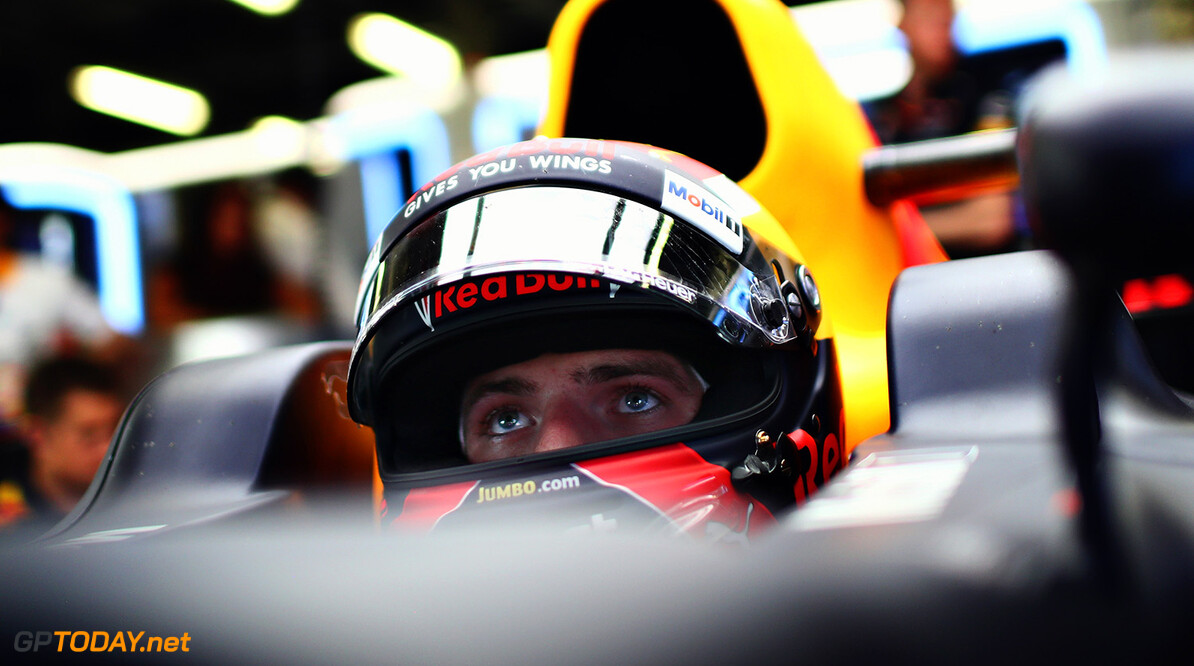 BAKU, AZERBAIJAN - JUNE 23: Max Verstappen of Netherlands and Red Bull Racing prepares to drive during practice for the Azerbaijan Formula One Grand Prix at Baku City Circuit on June 23, 2017 in Baku, Azerbaijan.  (Photo by Dan Istitene/Getty Images) // Getty Images / Red Bull Content Pool  // P-20170623-01405 // Usage for editorial use only // Please go to www.redbullcontentpool.com for further information. //  Azerbaijan F1 Grand Prix - Practice Dan Istitene Baku Azerbaijan  P-20170623-01405
