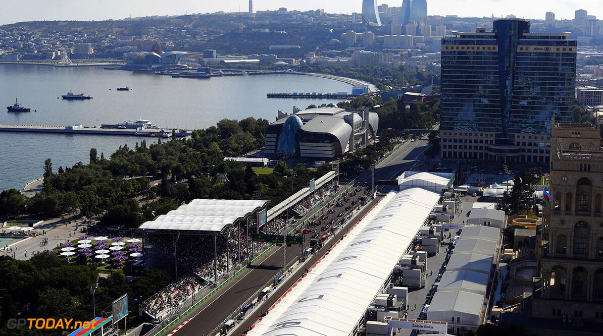 Baku City Circuit, Baku, Azerbaijan. Sunday 25 June 2017. World Copyright: Steven Tee/LAT Images ref: Digital Image _O3I2910  Steven Tee    f1 formula 1 formula one gp baku
