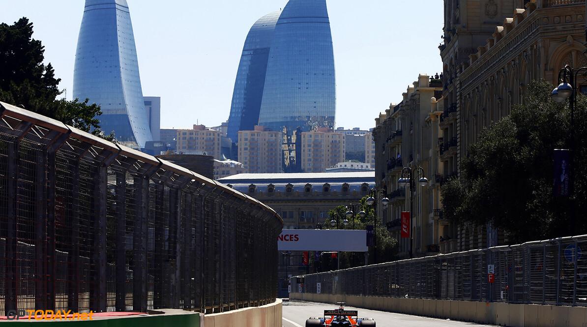 Baku City Circuit, Baku, Azerbaijan. Saturday 24 June 2017. Fernando Alonso, McLaren MCL32 Honda.  Photo: Andrew Hone/McLaren ref: Digital Image _ONZ7539      f1 formula 1 formula one gp grand prix Action