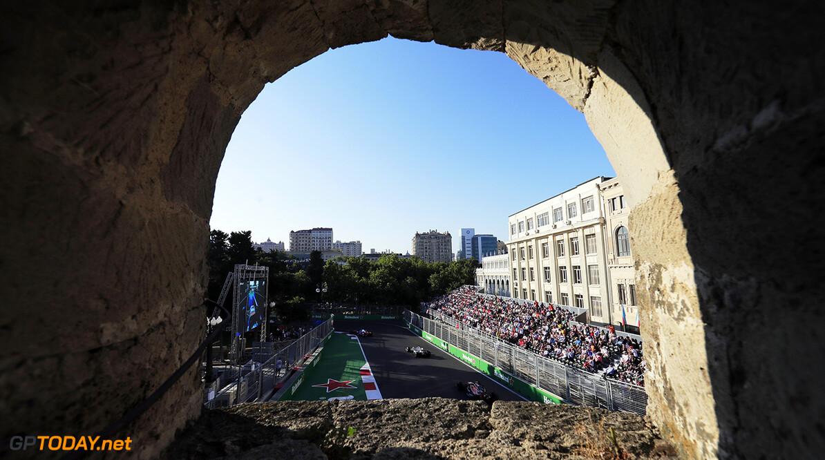 Baku City Circuit, Baku, Azerbaijan. Sunday 25 June 2017. World Copyright: Zak Mauger/LAT Images ref: Digital Image _54I4876  Zak Mauger    f1, formula 1, formula one, gp, baku,  ts-live,,,,,,,
