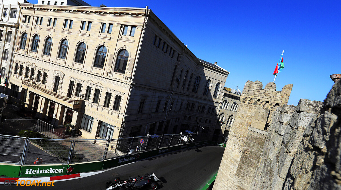 Baku City Circuit, Baku, Azerbaijan. Sunday 25 June 2017. World Copyright: Zak Mauger/LAT Images ref: Digital Image _54I4382  Zak Mauger    f1, formula 1, formula one, gp, baku,  ts-live,,,,,,,