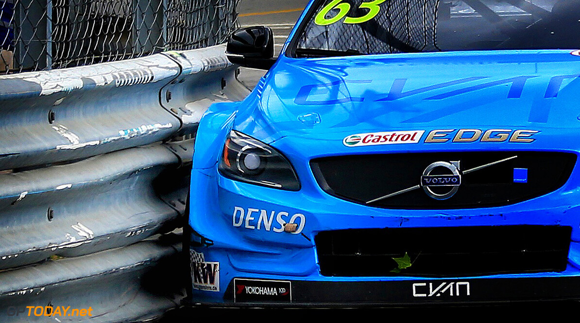 63 CATSBURG Nicky (ned) Volvo S60 Polestar team Polestar Cyan Racing action during the 2017 FIA WTCC World Touring Car Championship race of Portugal, Vila Real from june 23 to 25 - Photo Paulo Maria / DPPI AUTO - WTCC PORTUGAL 2017 Paulo Maria Vila Real Portugal  auto championnat du monde circuit course fia motorsport tourisme wtcc