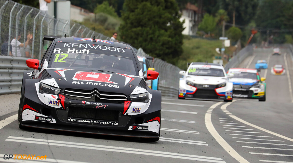 12 HUFF Rob (gbr) Citroen C-Elysee team ALL-INKL.COM Munnich Motorsport action during the 2017 FIA WTCC World Touring Car Championship race of Portugal, Vila Real from june 23 to 25 - Photo Paulo Maria / DPPI AUTO - WTCC PORTUGAL 2017 Paulo Maria Vila Real Portugal  auto championnat du monde circuit course fia motorsport tourisme wtcc