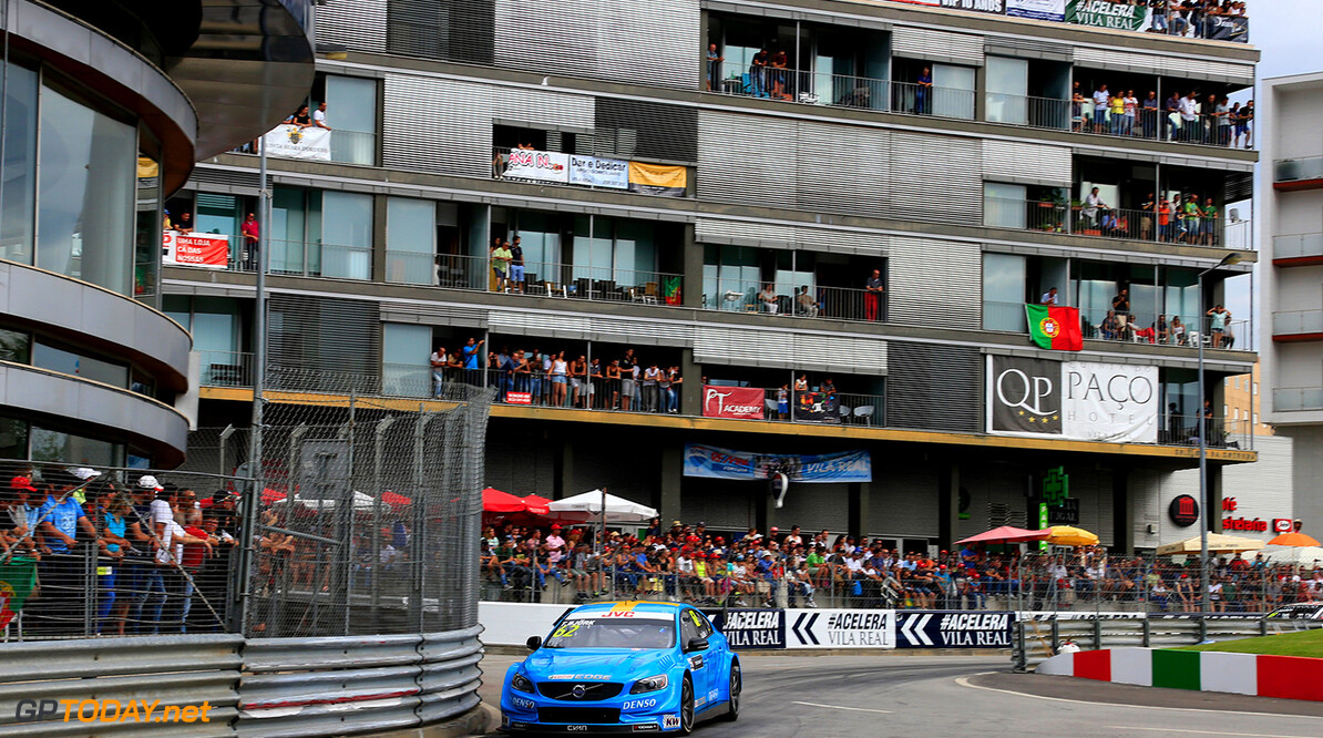 62 BJORK Thed (swe) Volvo S60 Polestar team Polestar Cyan Racing action during the 2017 FIA WTCC World Touring Car Championship race of Portugal, Vila Real from june 23 to 25 - Photo Paulo Maria / DPPI AUTO - WTCC PORTUGAL 2017 Paulo Maria Vila Real Portugal  auto championnat du monde circuit course fia motorsport tourisme wtcc