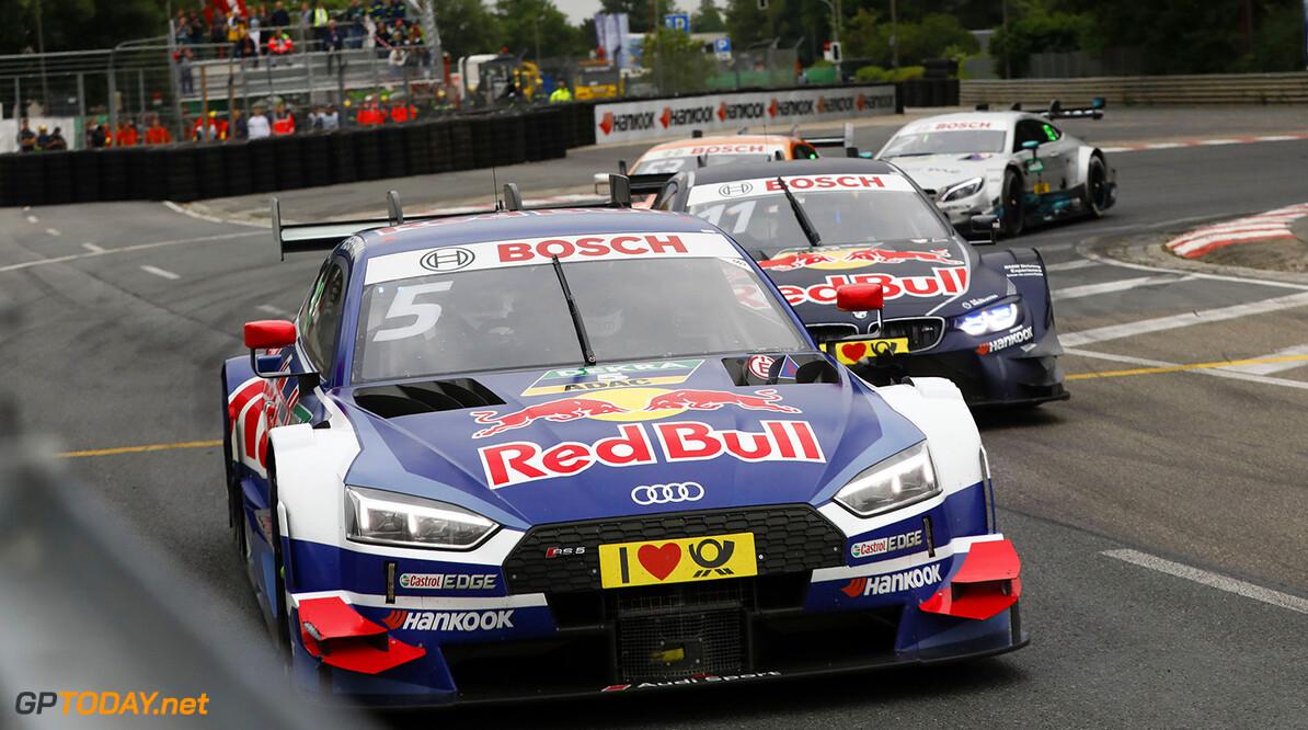 Roar Before the Rolex 24 #5 Mattias Ekstr?m, Audi RS5 DTM, #11 Marco Wittmann, BMW M4 DTM Motorsports: DTM race in N?rnberg HZ Nuernberg Germany  Motorsport Sport DTM