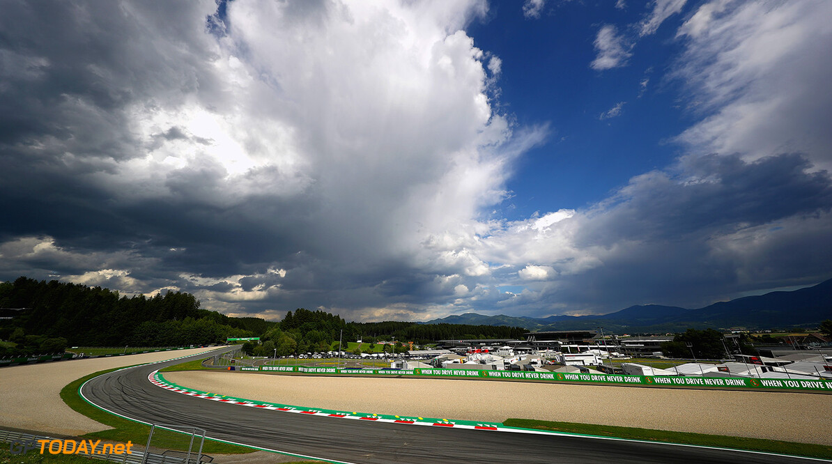 SPIELBERG, AUSTRIA - JULY 06:  A general view of the circuit during previews ahead of the home race of Red Bull Racing and Formula One Grand Prix of Austria at Red Bull Ring on July 6, 2017 in Spielberg, Austria.  (Photo by Clive Mason/Getty Images) // Getty Images / Red Bull Content Pool  // P-20170706-02710 // Usage for editorial use only // Please go to www.redbullcontentpool.com for further information. //  F1 Grand Prix of Austria - Previews Clive Mason Red Bull Ring Austria  P-20170706-02710