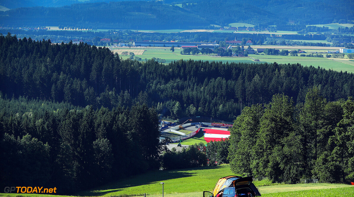 Formula One World Championship www.sutton-images.com  Scenic view at Formula One World Championship, Rd9, Austrian Grand Prix, Preparations, Spielberg, Austria, Thursday 6 July 2017. Austrian Grand Prix Preparations  Spielberg Austria  F1 Formula 1 Formula One GP Grand Prix portrait
