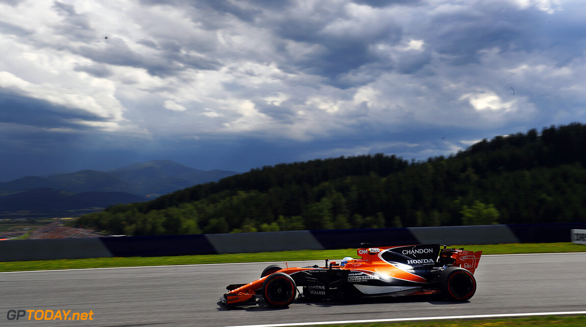 Red Bull Ring, Spielberg, Austria. Friday 7 July 2017. Fernando Alonso, McLaren MCL32 Honda. Photo: Steven Tee/McLaren ref: Digital Image _O3I6410  Steven Tee    f1 formula 1 formula one gp grand prix Action