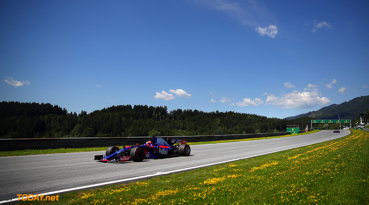SPIELBERG, AUSTRIA - JULY 07: Daniil Kvyat of Russia driving the (26) Scuderia Toro Rosso STR12 on track during practice for the Formula One Grand Prix of Austria at Red Bull Ring on July 7, 2017 in Spielberg, Austria.  (Photo by Clive Mason/Getty Images) // Getty Images / Red Bull Content Pool  // P-20170707-03776 // Usage for editorial use only // Please go to www.redbullcontentpool.com for further information. //  F1 Grand Prix of Austria - Practice Clive Mason Red Bull Ring Austria  P-20170707-03776