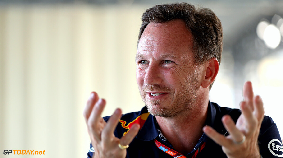 SPIELBERG, AUSTRIA - JULY 07:  Red Bull Racing Team Principal Christian Horner talks during practice for the Formula One Grand Prix of Austria at Red Bull Ring on July 7, 2017 in Spielberg, Austria.  (Photo by Mark Thompson/Getty Images) // Getty Images / Red Bull Content Pool  // P-20170707-04141 // Usage for editorial use only // Please go to www.redbullcontentpool.com for further information. //  F1 Grand Prix of Austria - Practice Mark Thompson Red Bull Ring Austria  P-20170707-04141