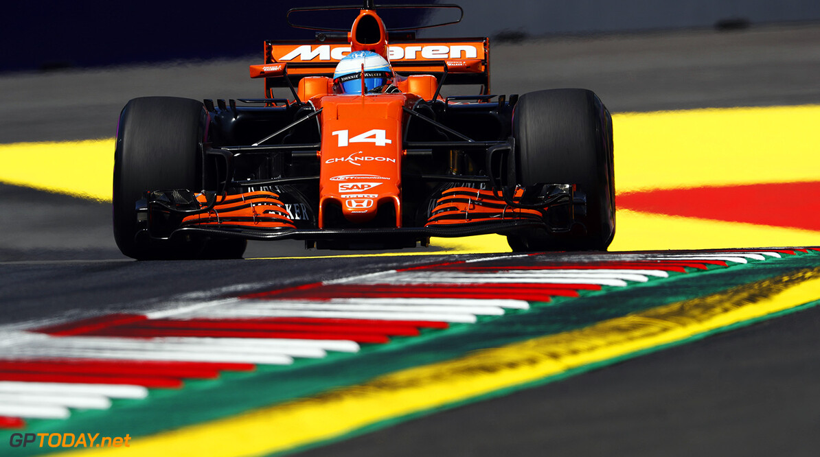 Red Bull Ring, Spielberg, Austria. Friday 7 July 2017. Fernando Alonso, McLaren MCL32 Honda. Photo: Glenn Dunbar/McLaren ref: Digital Image _X4I4723  Glenn Dunbar    f1 formula 1 formula one gp grand prix Action