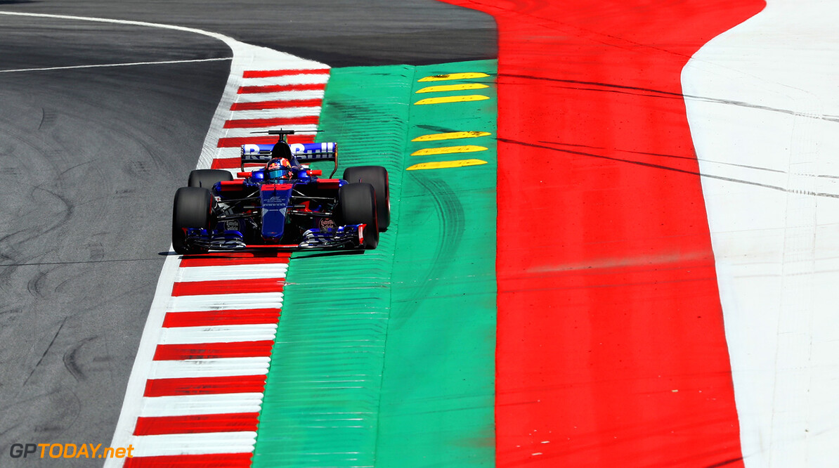 SPIELBERG, AUSTRIA - JULY 07: Daniil Kvyat of Russia driving the (26) Scuderia Toro Rosso STR12 on track during practice for the Formula One Grand Prix of Austria at Red Bull Ring on July 7, 2017 in Spielberg, Austria.  (Photo by Mark Thompson/Getty Images) // Getty Images / Red Bull Content Pool  // P-20170707-00864 // Usage for editorial use only // Please go to www.redbullcontentpool.com for further information. //  F1 Grand Prix of Austria - Practice Mark Thompson Red Bull Ring Austria  P-20170707-00864