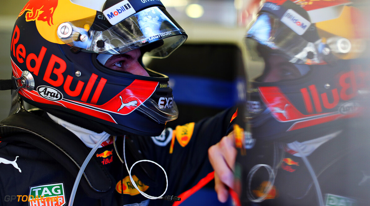 SPIELBERG, AUSTRIA - JULY 07:  Max Verstappen of Netherlands and Red Bull Racing prepares to drive during practice for the Formula One Grand Prix of Austria at Red Bull Ring on July 7, 2017 in Spielberg, Austria.  (Photo by Mark Thompson/Getty Images) // Getty Images / Red Bull Content Pool  // P-20170707-03446 // Usage for editorial use only // Please go to www.redbullcontentpool.com for further information. //  F1 Grand Prix of Austria - Practice Mark Thompson Red Bull Ring Austria  P-20170707-03446