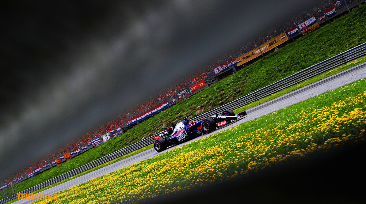 SPIELBERG, AUSTRIA - JULY 09: Daniil Kvyat of Russia driving the (26) Scuderia Toro Rosso STR12 on track  during the Formula One Grand Prix of Austria at Red Bull Ring on July 9, 2017 in Spielberg, Austria.  (Photo by Mark Thompson/Getty Images) // Getty Images / Red Bull Content Pool  // P-20170709-04166 // Usage for editorial use only // Please go to www.redbullcontentpool.com for further information. //  F1 Grand Prix of Austria Mark Thompson Red Bull Ring Austria  P-20170709-04166