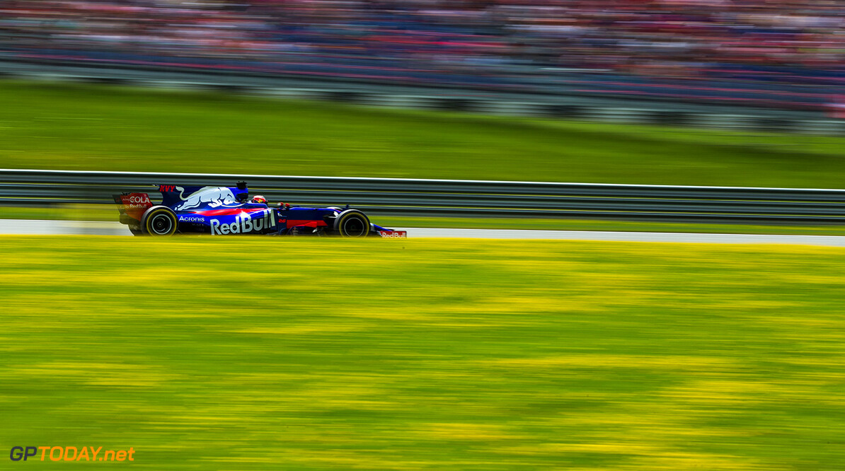 SPIELBERG, AUSTRIA - JULY 09: Daniil Kvyat of Scuderia Toro Rosso and Russia  during the Formula One Grand Prix of Austria at Red Bull Ring on July 9, 2017 in Spielberg, Austria.  (Photo by Peter Fox/Getty Images) // Getty Images / Red Bull Content Pool  // P-20170709-02566 // Usage for editorial use only // Please go to www.redbullcontentpool.com for further information. //  F1 Grand Prix of Austria Peter Fox Red Bull Ring Austria  P-20170709-02566