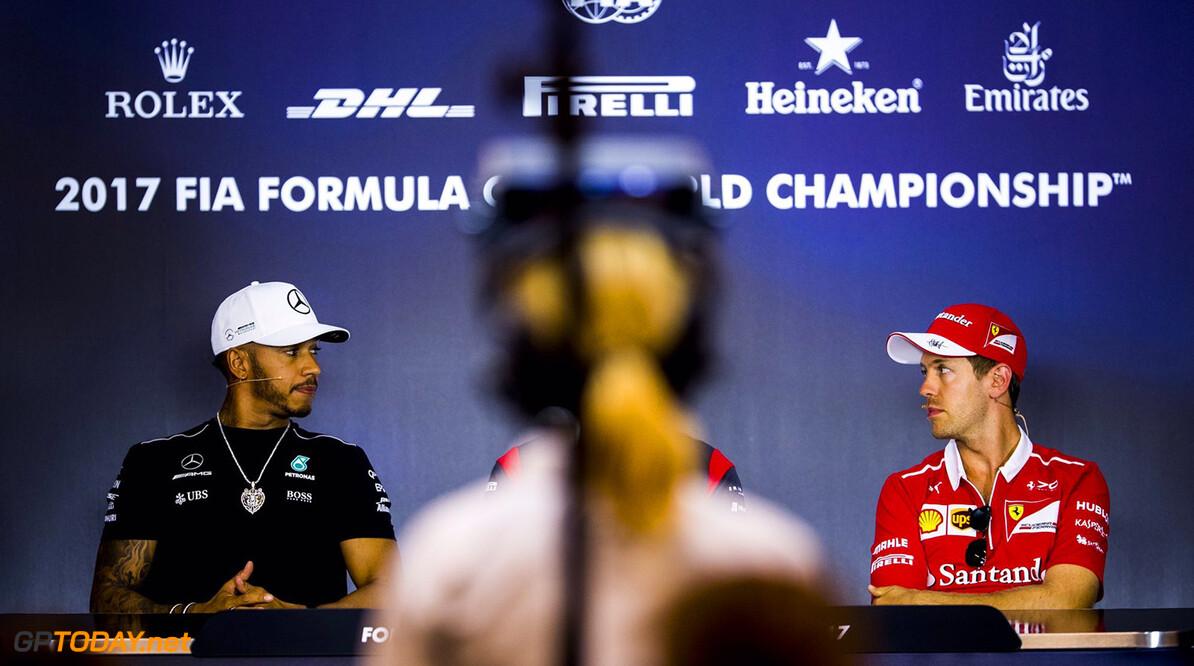 "Vettel: ""Hamilton heeft minder fouten gemaakt dan ik"""