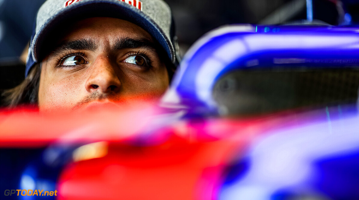 NORTHAMPTON, ENGLAND - JULY 13:  Carlos Sainz of Scuderia Toro Rosso and Spain during previews ahead of the Formula One Grand Prix of Great Britain at Silverstone on July 13, 2017 in Northampton, England.  (Photo by Peter Fox/Getty Images) // Getty Images / Red Bull Content Pool  // P-20170713-01260 // Usage for editorial use only // Please go to www.redbullcontentpool.com for further information. //  F1 Grand Prix of Great Britain - Previews Peter Fox Silverstone United Kingdom  P-20170713-01260