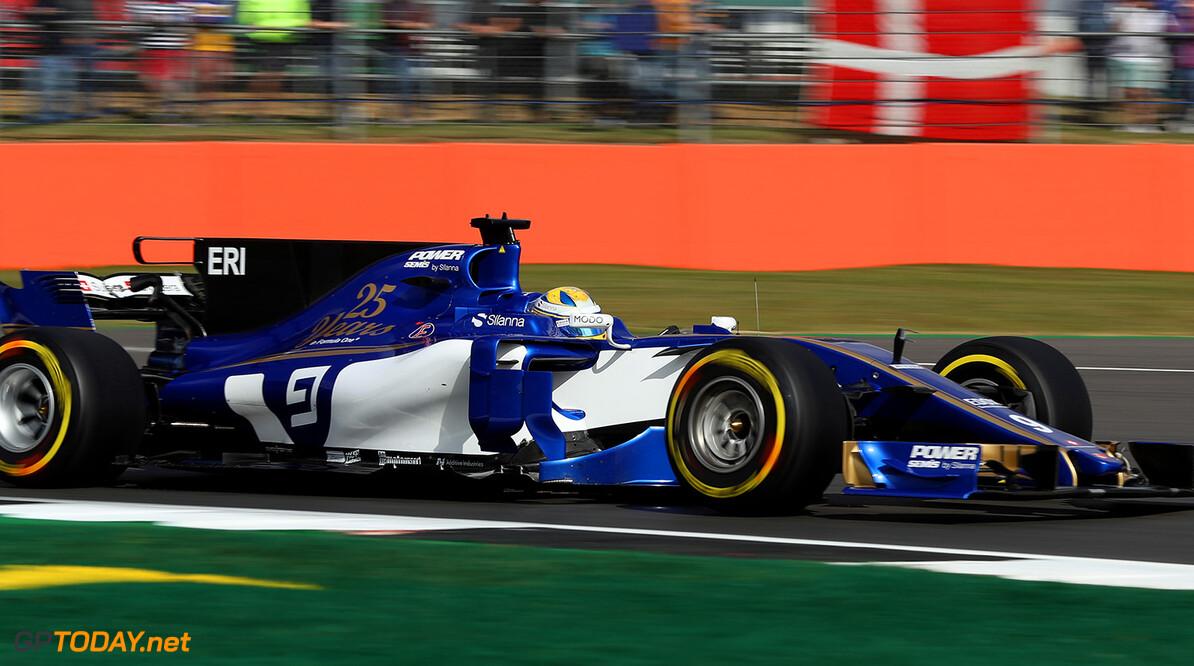 British GP Friday 14/07/17 Marcus Ericsson (SWE), Sauber F1 Team.  Silverstone Circuit.  British GP Friday 14/07/17 Jad Sherif                       Silverstone Great Britain  F1 Formula 1 One 2017 UK England Action Ericsson Sauber