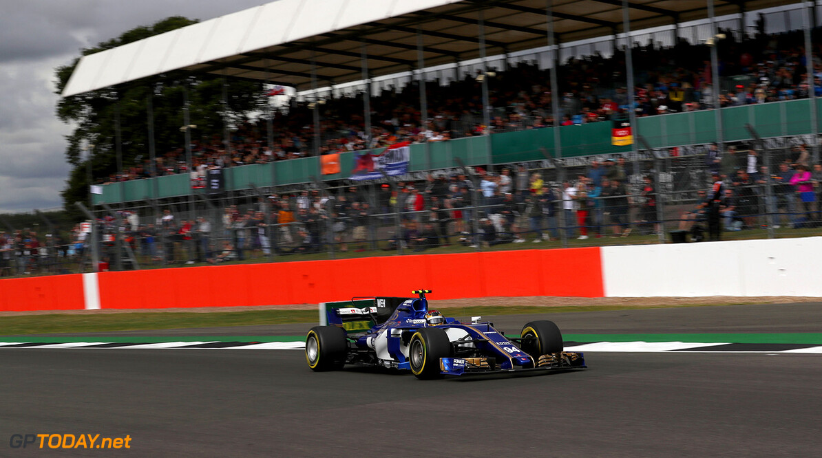British GP Friday 14/07/17 Pascal Wehrlein (D), Sauber F1 Team. Silverstone Circuit.  British GP Friday 14/07/17 Jean-Francois Galeron Silverstone Great Britain  F1 Formula One 2017 Action Wehrlein Sauber