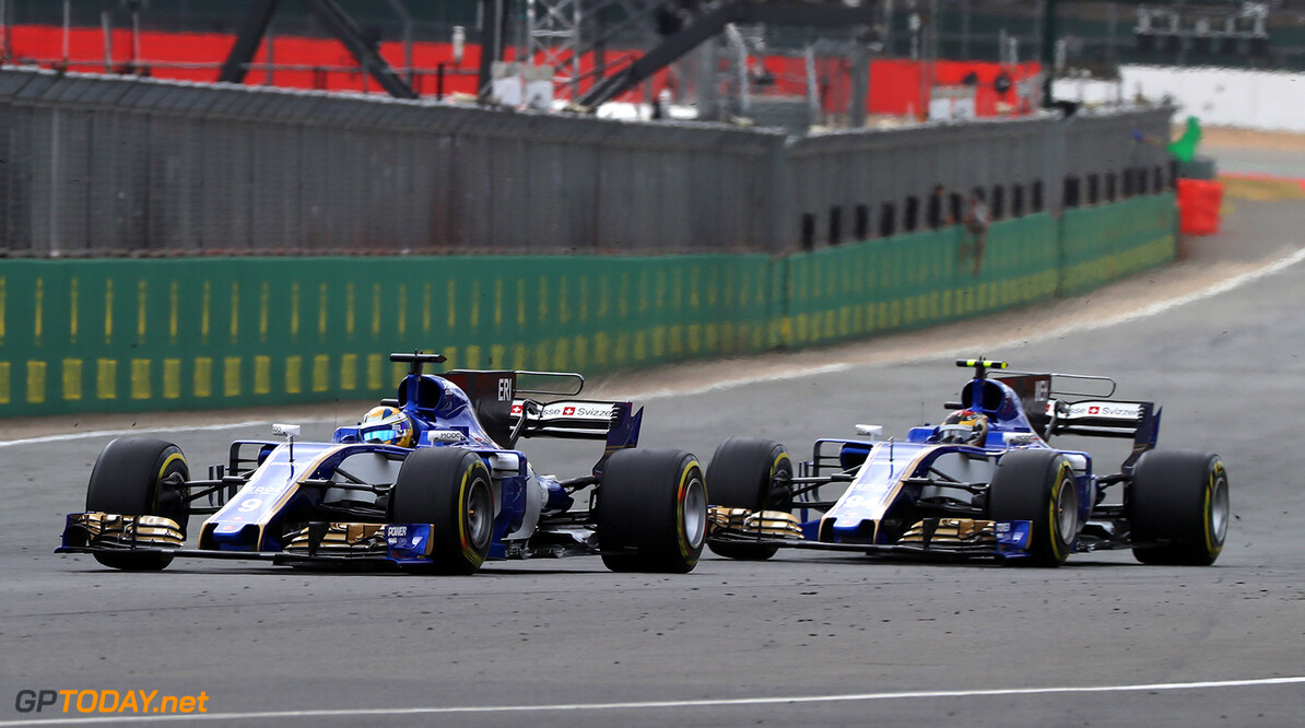 British GP Race 16/07/17 Marcus Ericsson (SWE) Sauber F1 Team.  Silverstone Circuit.  British GP Race 16/07/17 Jad Sherif                       Silverstone Great Britain  F1 Formula 1 One 2017 UK England Action Ericsson Sauber