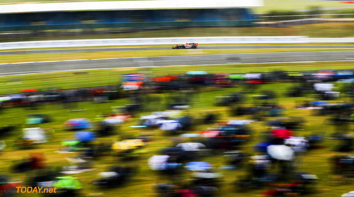 Formula One World Championship Silverstone, Northamptonshire, UK. Saturday 15 July 2017. Stoffel Vandoorne, McLaren MCL32 Honda. Photo: Sutton/McLaren ref: Digital Image dcc1715jy25 British Grand Prix Qualifying Kym Illman    f1 formula 1 formula one gp grand prix Action