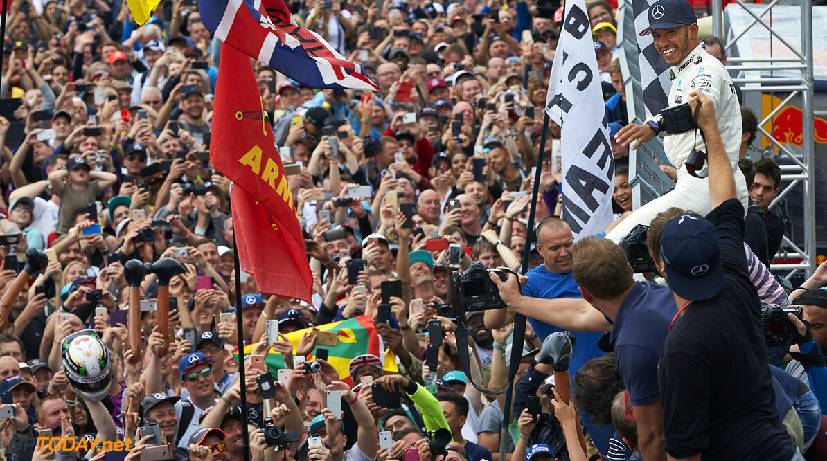 Grand Prix attendance in 2017 increased by 8% from 2016