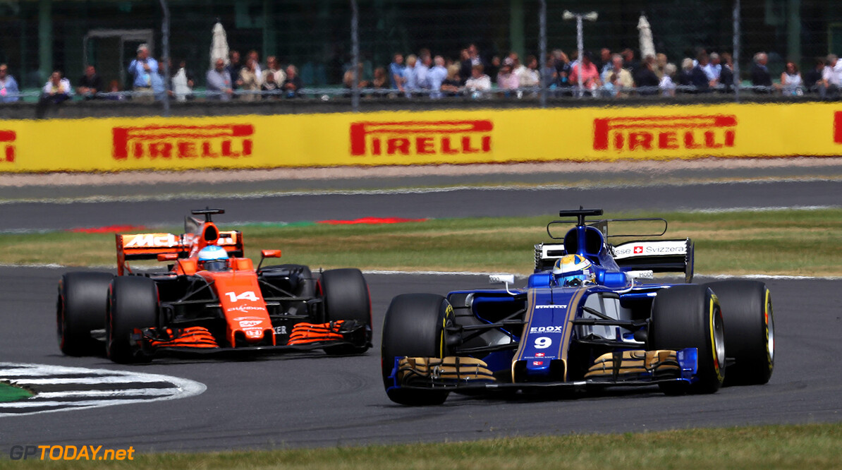 British GP Race 16/07/17 Marcus Ericsson (SWE), Sauber F1 Team. Silverstone Circuit.  British GP Race 16/07/17 Jean-Francois Galeron Silverstone Great Britain  F1 Formula One 2017 Action Ericsson Sauber