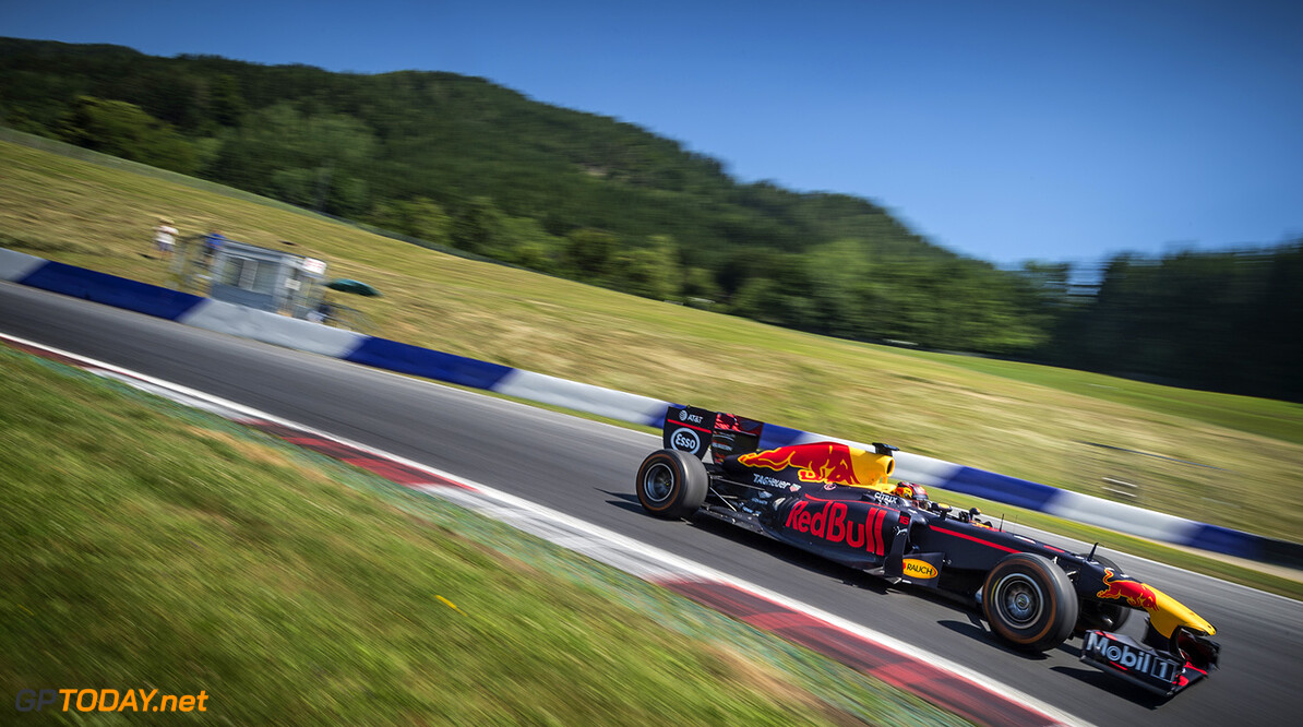 Sebastien Ogier races with the RB7 in Spielberg, Austria on June 20,2017 // Philip Platzer/Red Bull Content Pool // P-20170712-00542 // Usage for editorial use only // Please go to www.redbullcontentpool.com for further information. //  Sebastien Ogier Philip Platzer Red Bull Ring Austria  P-20170712-00542