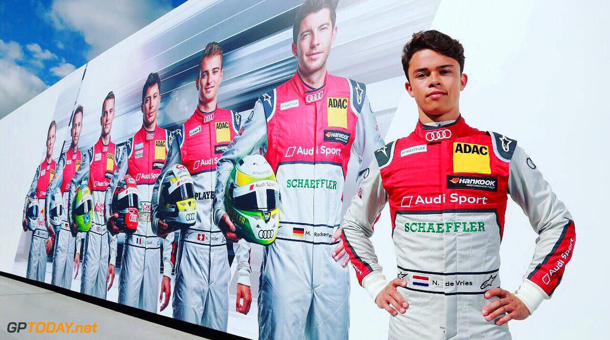 Nyck de Vries test in januari met een Formule E-auto