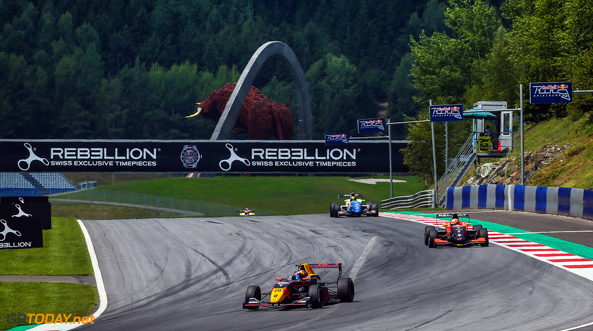 SPIELBERG (AUT) JUL 21-23 2017 - Round seven of the Formula Renault 2.0 Eurocup at the Red Bull Ring. Richard Verschoor #29 MP Motorsport. // Dutch Photo Agency/Red Bull Content Pool // P-20170722-00496 // Usage for editorial use only // Please go to www.redbullcontentpool.com for further information. //  Richard Verschoor  Spielberg Bei Knittelfeld Austria  P-20170722-00496